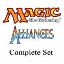 Set complet - Alliances NM/EX VF