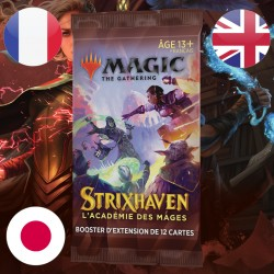 Booster d'EXTENSION Strixhaven - Magic The Gathering (23/04/2021)