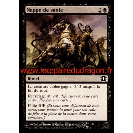 Noire - Nappe de Sanie (C)