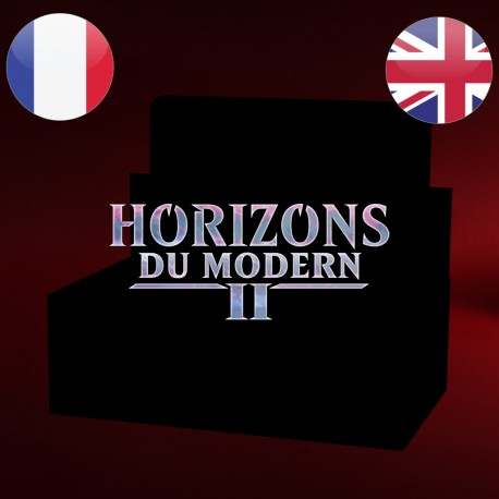 Boite de boosters COLLECTOR Horizons du Modern 2 - Magic The Gathering (11/06/2021)