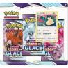 Pack 3 boosters Règne de Glace : Ronflex - Pokémon