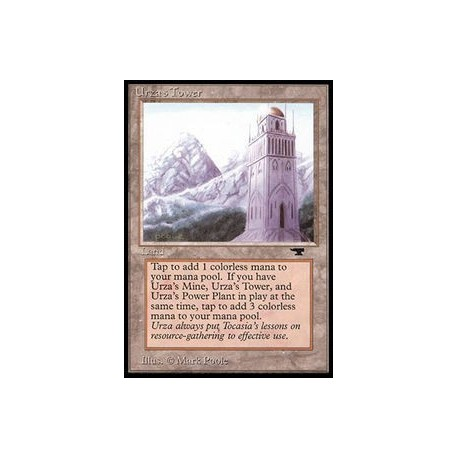 Incolore - Urza's Tower (Montagne) (C) [ATQ] Grading : GD