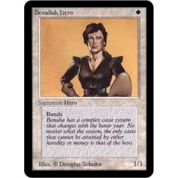 Blanche - Benalish Hero (C) [ALPHA] Grading : GD
