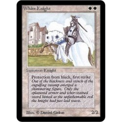 Blanche - White Knight (U) [ALPHA] Grading : NM
