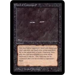 Noire - Word of Command (R) [ALPHA] Grading : LP