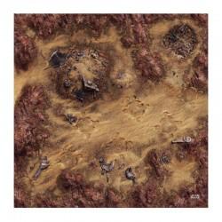 Star Wars Légion : Playmat Desert Junkyard (Tapis)