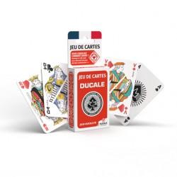 Jeu de 54 cartes DUCALE - Rouge