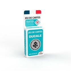 Jeu de 54 cartes DUCALE - Turquoise