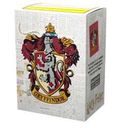 Dragon Shield Harry Potter - Format Standard MATTE par 100 : Gryffindor