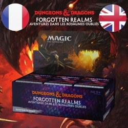 Boite Booster DRAFT D&D Forgotten Realms - Magic The Gathering