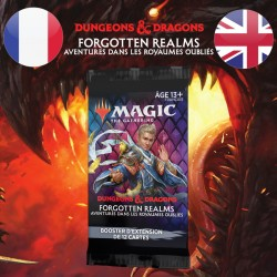 Booster SET D&D Forgotten Realms - Magic The Gathering (23/07/21)