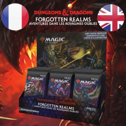 Boite Booster SET D&D Forgotten Realms - Magic The Gathering (23/07/21)