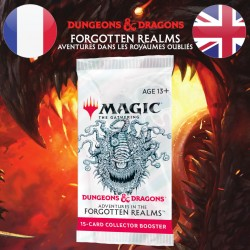 Booster COLLECTOR D&D Forgotten Realms - Magic The Gathering (23/07/21)