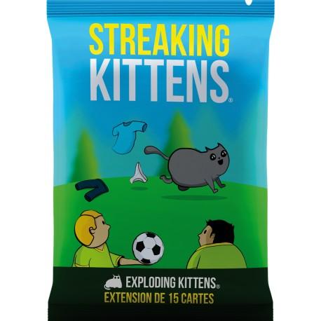 Exploding Kittens : Streaking Kittens (extension)