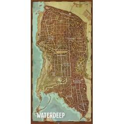 D&D 5 : Waterdeep - Plan de la cité de Waterdeep - Dungeons & Dragons 5edt