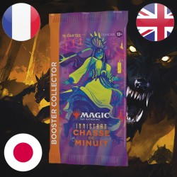 Booster COLLECTOR Innistrad Chasse de Minuit - Magic The Gathering (24/09/21)