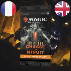Booster DRAFT Innistrad Chasse de Minuit - Magic The Gathering (24/09/21)