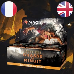 Boite Boosters DRAFT Innistrad Chasse de Minuit - Magic The Gathering (24/09/2021)