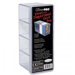 Boite de Rangement 4 Compartiments Ultra Pro