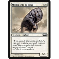 Blanche - Mastodonte de siège (C)