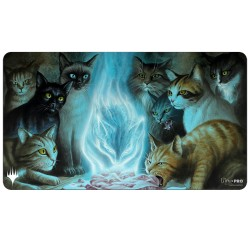 Playmat Innistrad Midnight Hunt : Chats - Magic The Gathering