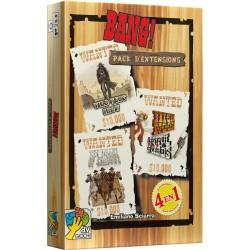 Bang ! Pack des 4 Extensions