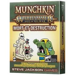 Munchkin Warhammer Age of Sigmar : Mort et Destruction