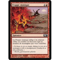 Rouge - Frappe sismique (C)