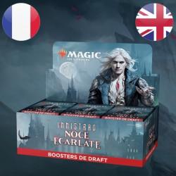 Boite Boosters DRAFT Innistrad Noce Ecarlate - Magic The Gathering (19/11/2021)