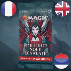 Booster SET Innistrad Noce Ecarlate - Magic The Gathering (19/11/2021)