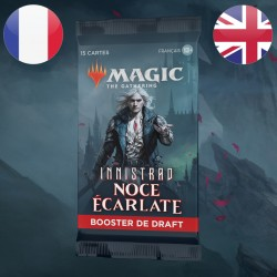 Booster DRAFT Innistrad Noce Ecarlate - Magic The Gathering (19/11/2021)