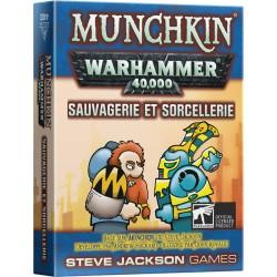 Munchkin Warhammer 40.000 :  Sauvagerie et Sorcellerie (extension)