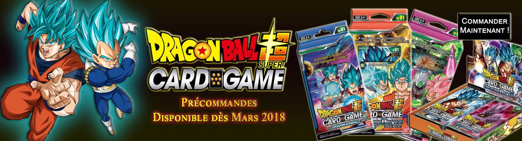 Dragon Ball Super le jeu de cartes !