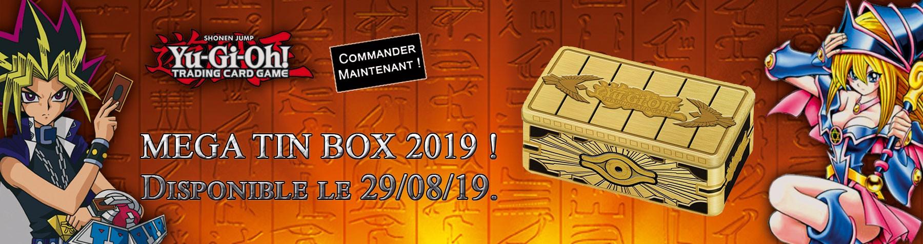 Yu-Gi-Oh ! MEGA TIN BOX 2019