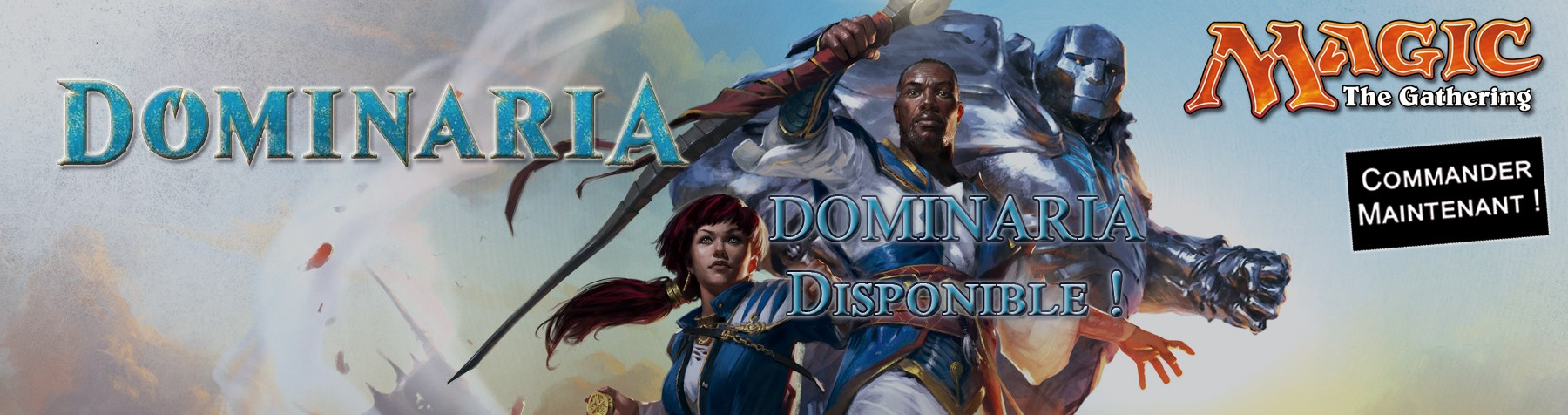 Nouvelle collection Dominaria