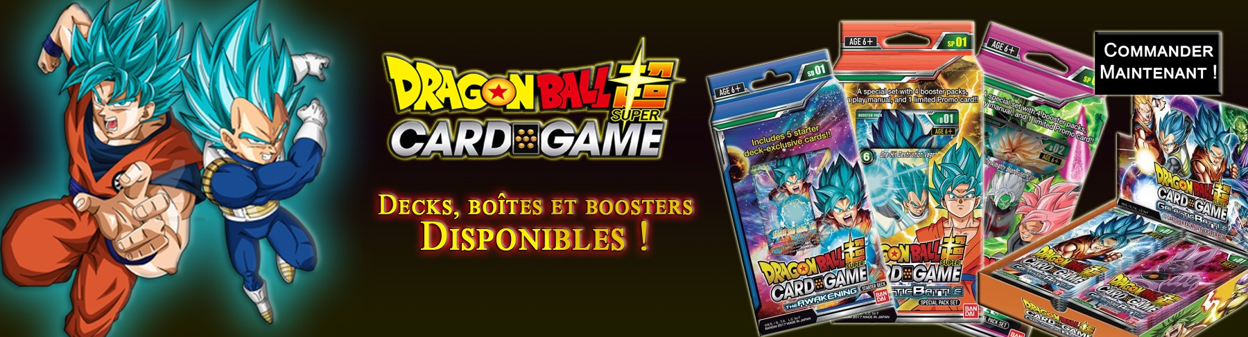 Dragon Ball Super le jeu de cartes !