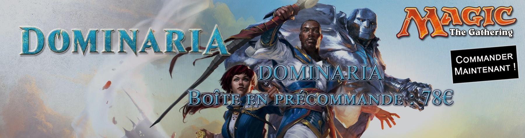 Nouvelle collection Dominaria