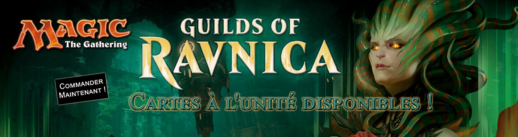 Nouvelle collection Guildes de Ravnica