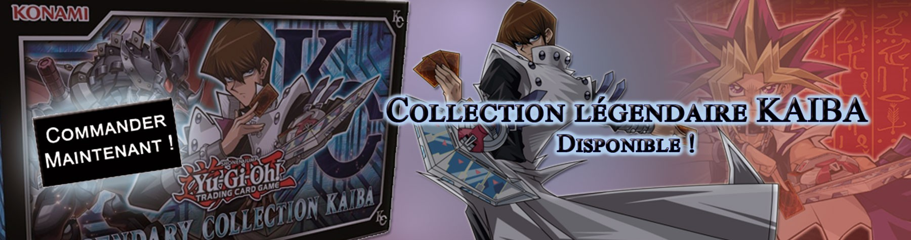 Yu-Gi-Oh ! Collection Légendaire KAIBA !